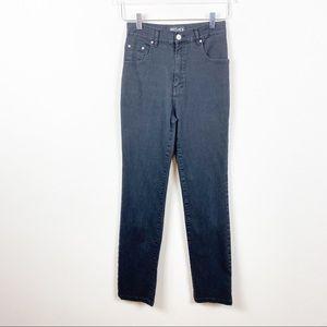 VINTAGE VERSACE | High Waist 90s Mom Jeans